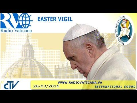 LIVE: The Pope officiates the Easter Vigil from Saint Peter's Basilica