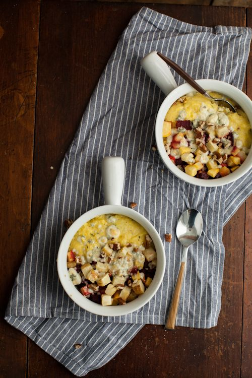 Naturally Ella   Creamy Polenta with Roasted Root Vegetables