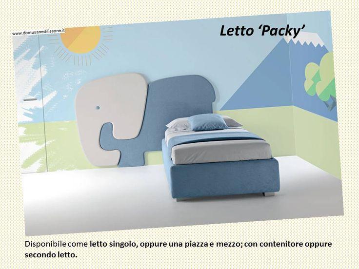 letto contenitore Packy per cameretta per bambino