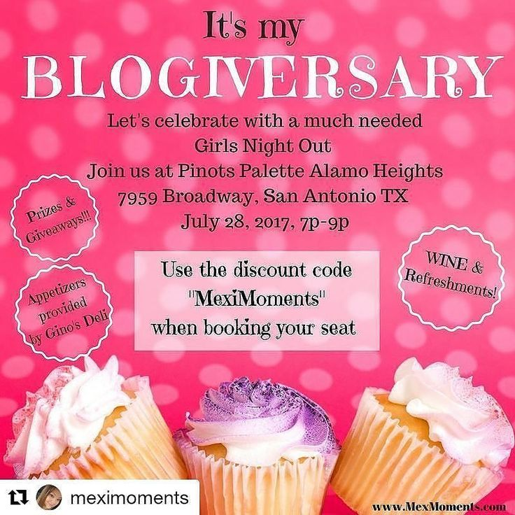 Check out @girltalkymas & @meximoments On SA Live this morning. It's their #blogoversary show them some love by liking and following them. Repost regram  Come join us!!! GIRLS NIGHT OUT  #Repost @meximoments (@get_repost)  Happy Friday! Where are my girls at??? I'm beyond excited to be hosting a fun Girls Night Out in honor of my #blogiversary this month! It's been a great 2 years & I've had some amazing moments  so lets celebrate!  . . Thank you to @pinotspalettesa Alamo Heights…