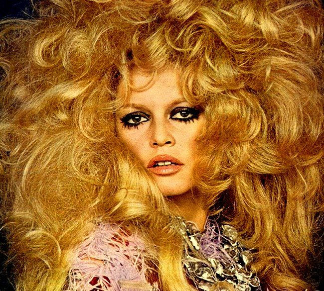 Brigitte Bardot - this is what my hair looks like if a blow-dry it.