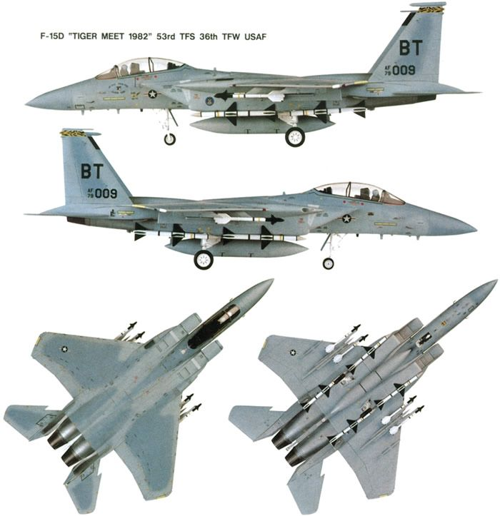 f-15 color schematic | Military and Commercial Aircraft | Aircraft