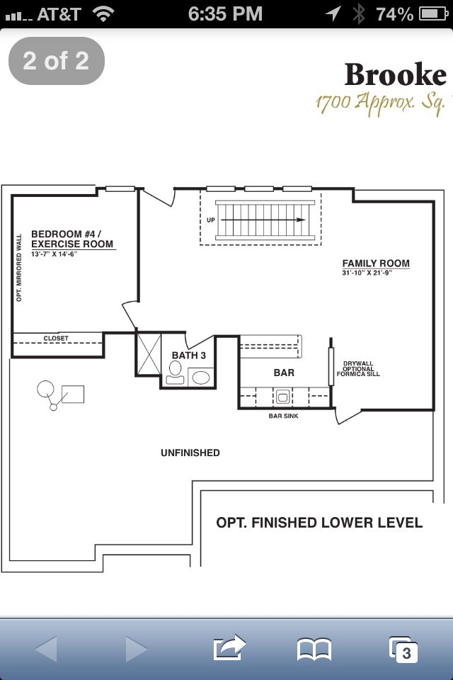 Finished basement floor plan house house house pinterest for Free finished basement plans