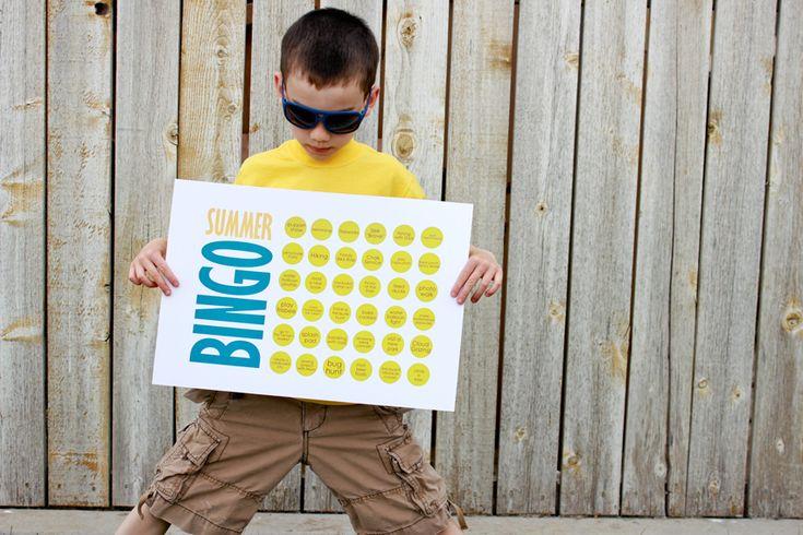 delia creates: B-I-N-G-O Summer ChartsB I N G O' Summer, Buckets Lists, Summer Bingo, Bingo Boards, Summer Buckets, Summer Activities, Summer Charts, Delias Create, Chore Charts