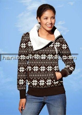 Yemi Moda Bayan Sweatshirt Modelleri