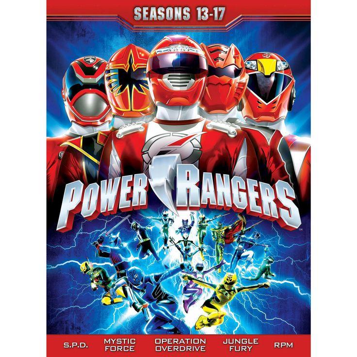 Power rangers:Seasons 13-17 (Dvd)