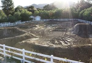 Backyard Motocross track... yea...