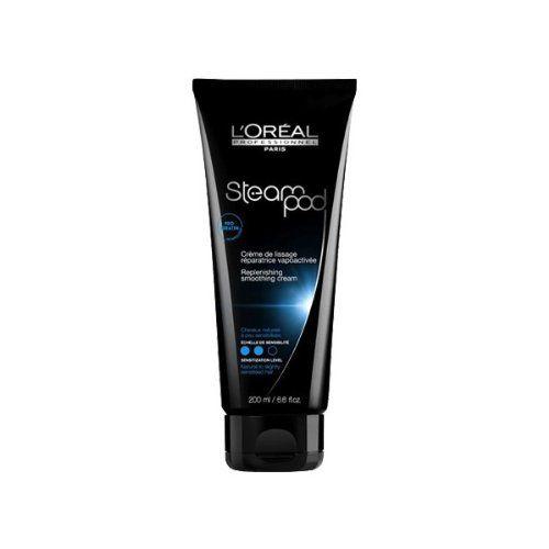 L'Oréal – Crème de Lissage Réparatrice pour Cheveux Sensibilisés – SteamPod – 200 ml | Your #1 Source for Beauty Products