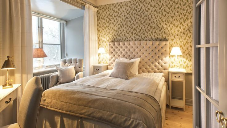 Bedroom inspiration from Rosersberg Palace. Rosersberg Palace is the only royal palace in Sweden where private individuals can stay and take part in conferences.
