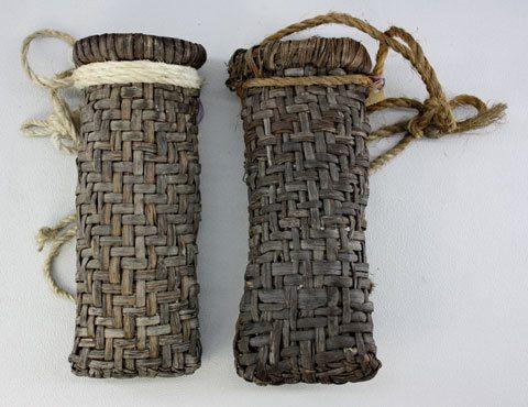 old Oriental baskets