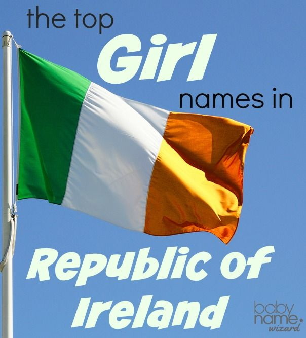 Most Popular Baby Names For Girls In The Republic Of Ireland Including Ava Chloe