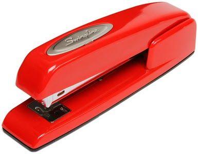 ThinkGeek :: The Red Swingline Stapler