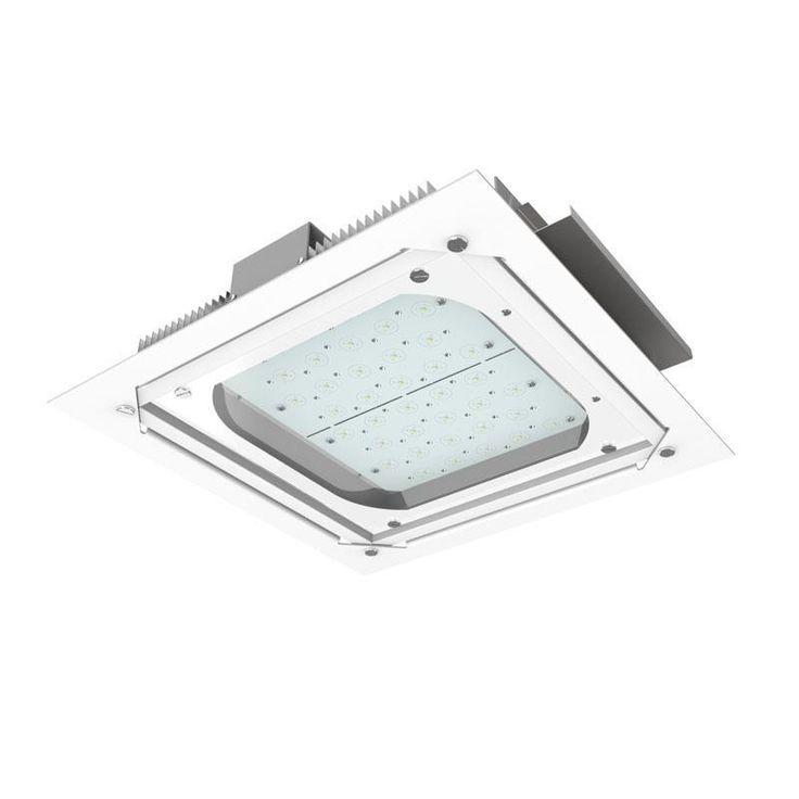 DOWNLIGHTS : ΦΩΤΙΣΤΙΚΟ ΧΩΝΕΥΤΟ LED SMD 90W 6500Κ 38Χ38cm N.147-56320