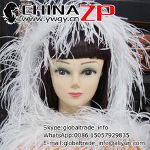 Toonaangevende Leverancier CHINAZP Fabriek 2 yards/lot Geselecteerde Top Kwaliteit Struisvogelveren Boas 11 Kleuren Beschikbaar(China (Mainland))