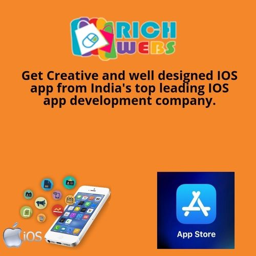 Rich webs Leading IOS app development company in India
