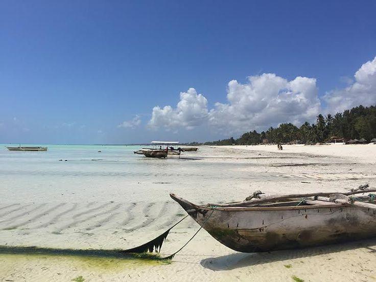 Strand von Paje bei Ebbe – Backpacking-Tipp für Sansibar-Rundreise
