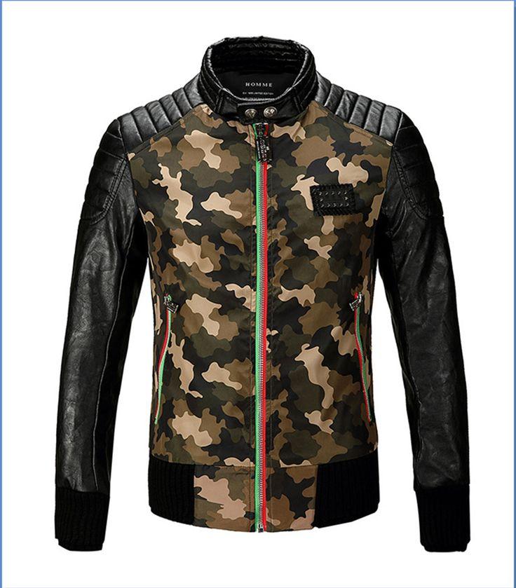 Veste camouflage pour homme