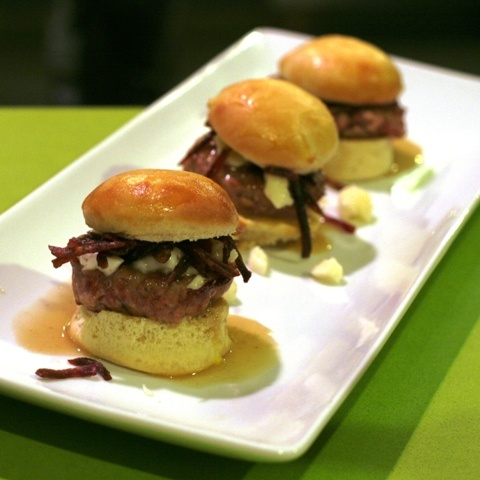 #Duck Confit Burgers w/ #Poutine & Duck Fat #Gravy