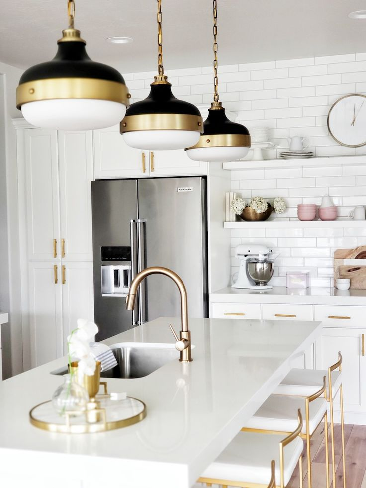 Kitchen Update: Pendant & Faucet Edition