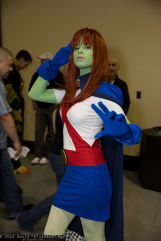miss martian cosplay universe emeraldcitycomicon - Universe Halloween Costume