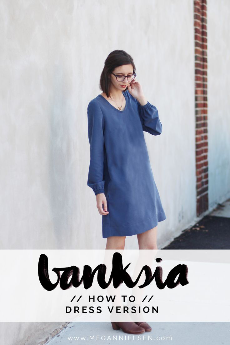 how to make a Banksia dress // tutorial on Megan Nielsen Design Diary