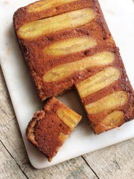 Een prachtige, maar vooral lekkere cake met karamel én banaan. Yum!