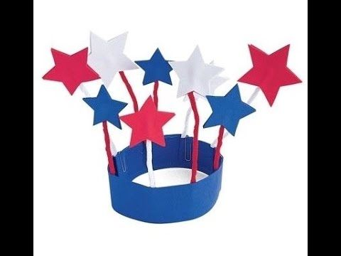 4th OF JULY CRAFT FOR KIDS - YouTube #4thofjuly #fourthofjuly #crafts #paperhat #DIY