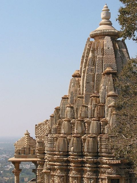 Temple, Chittorgarh Fort - India                                                                                                                                                                                 Mais