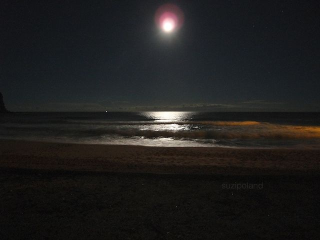 """a minute by the sea - #avalon #moon"" is part of a series of still #videos/moving photographs by #suzipoland capturing a minute by the #sea, somewhere, sometime. The videos are not directed or edited but simply a minute of life as it is ... a ""vignette de la vie"" suzipoland.blogspot.com.au/2012/06/minutes-by-sea-avalon-moon.html"