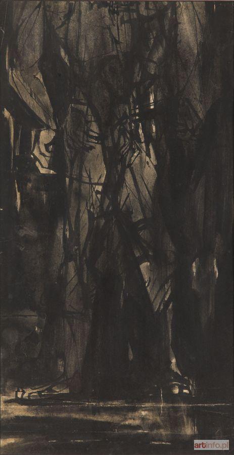 Roman OPAŁKA ● Szkic, 1959 r. ●