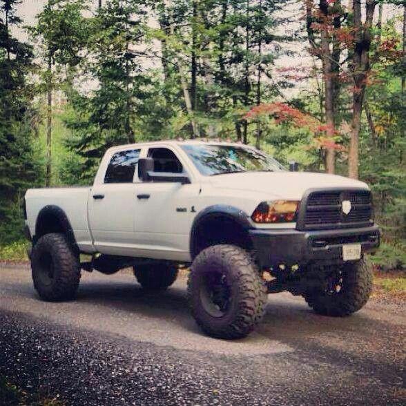 Jacked Up Dodge Truck >> 205 best Jacked up Dodge ram trucks images on Pinterest