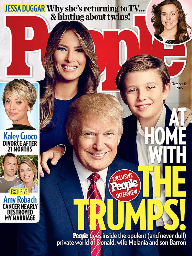 At Home with Donald Trump and His Family: 'They Get How Important This Is' http://www.people.com/article/people-magazine-home-donald-trump-family