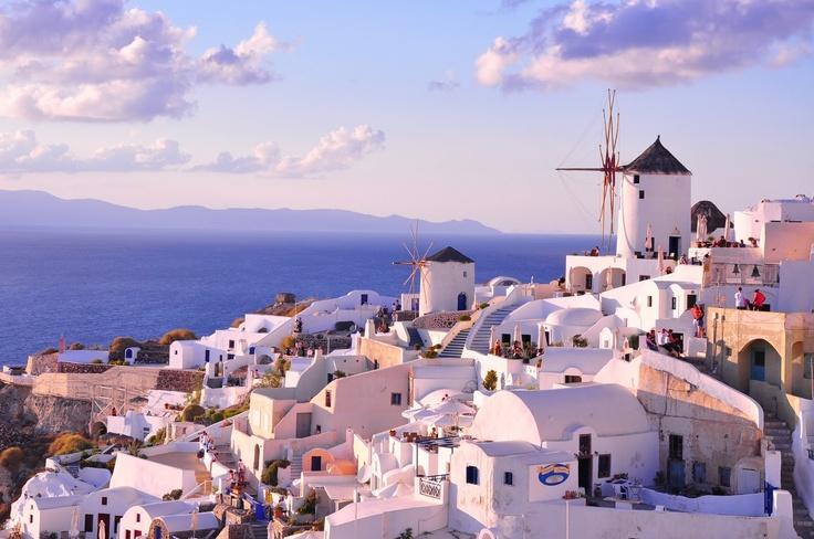 Santorini Sunset, #Greece via: Behind The Lens Lukey #travel  Please take me here!!