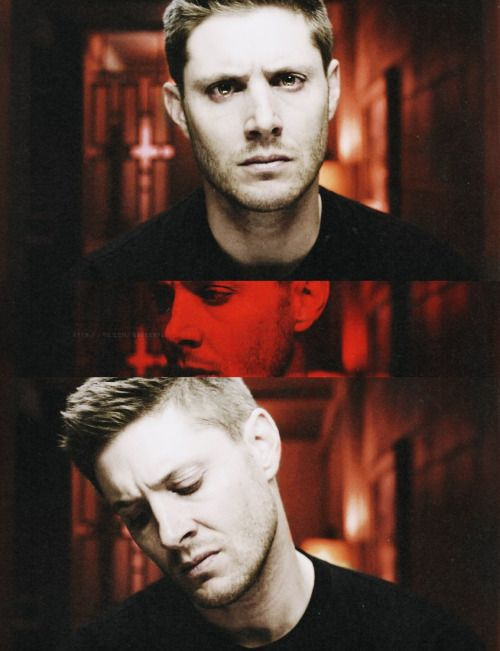 He looks so dead and angry in the eyes in his eyes in these stills and it scares me. This whole episode terrified me because I didnt know what the hec Dean was going to do and with the Mark of Cain, who knows what that was going to be