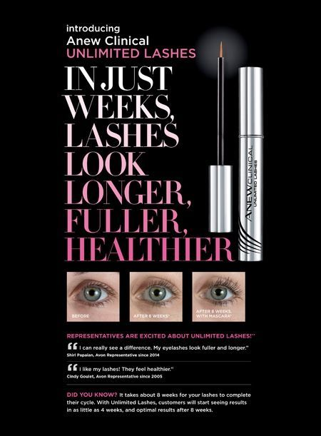 6974ae83120 Avon ANEW Clinical Unlimited Lashes Lash & Brow Activating Serum!!!  #EyeLashesGrowth
