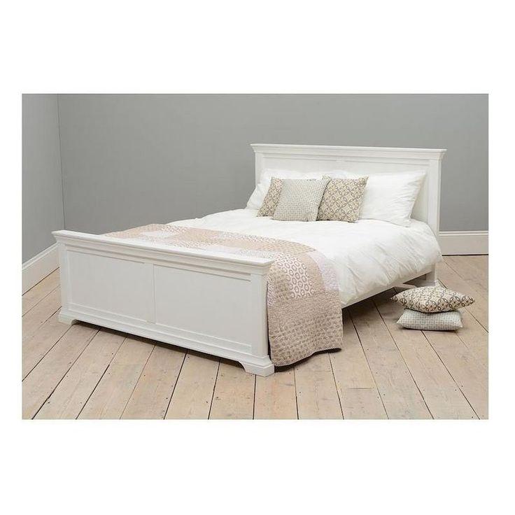 Łóżko w stylu prowansalskim Bonita