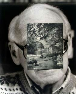 John Stezaker Old Mask VIII  2006  Collage  24.5 x 19.5 cm