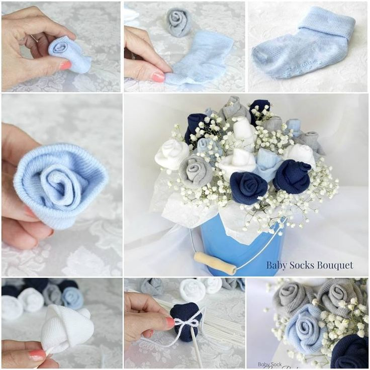 baby shower gift calcenticitos diy pinterest