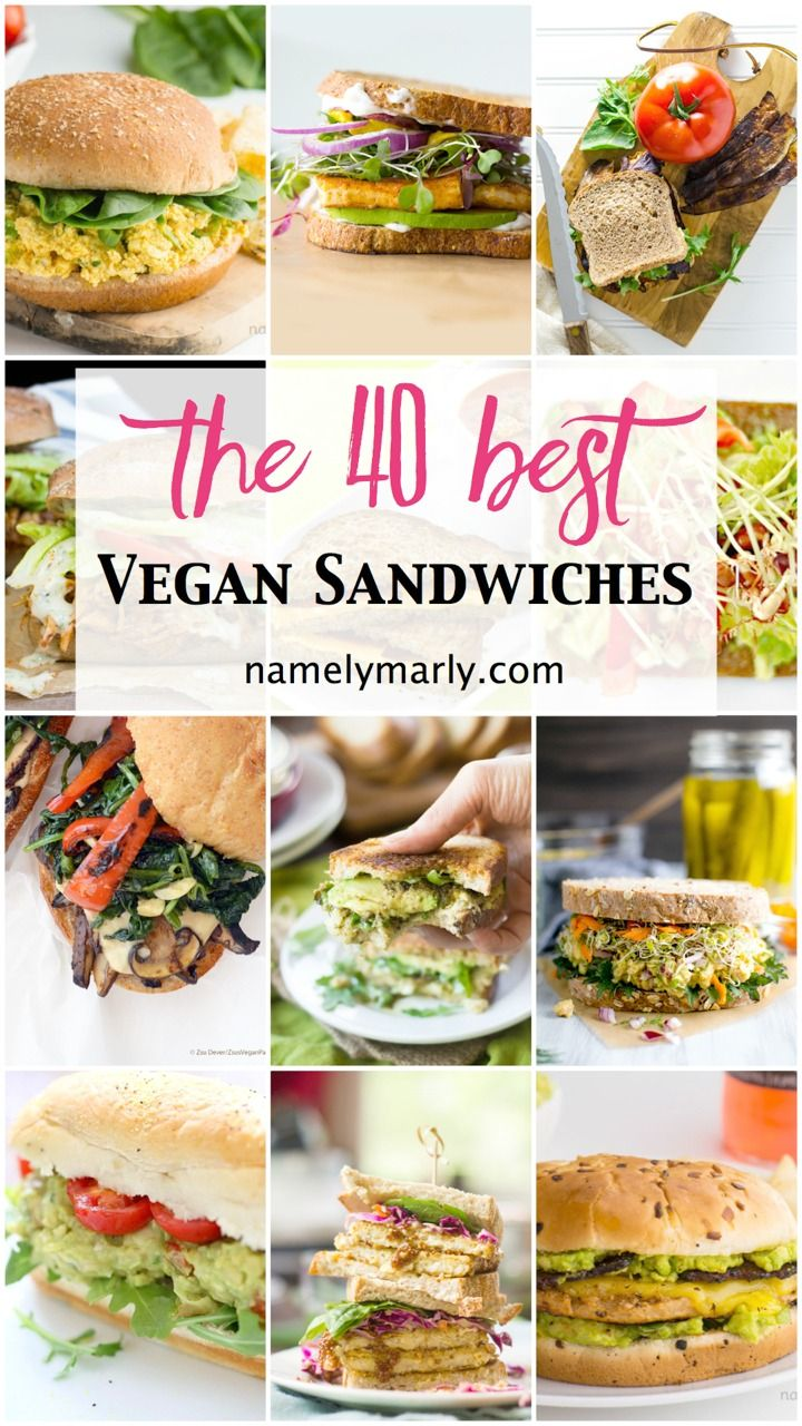 It's national sandwich month so today we're sharing the Best Vegan Sandwiches roundup, featuring some of our favorite vegan bloggers!