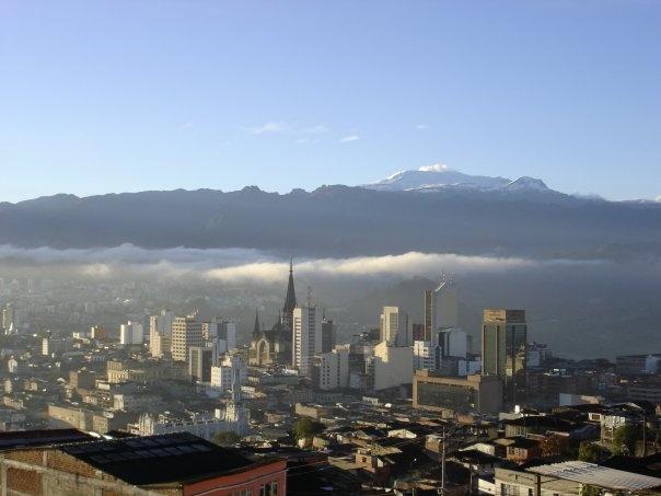 Manizales skyline