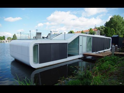 Watervilla Omval Floating house by +31Architects