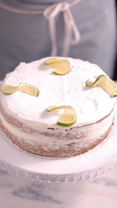 Whether you use lemon or lime, this citrusy cake is beautiful with or without thick layers of frosting.