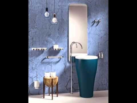 722 best decoracion ba os images on pinterest bathroom for Ideas para decorar banos pequenos