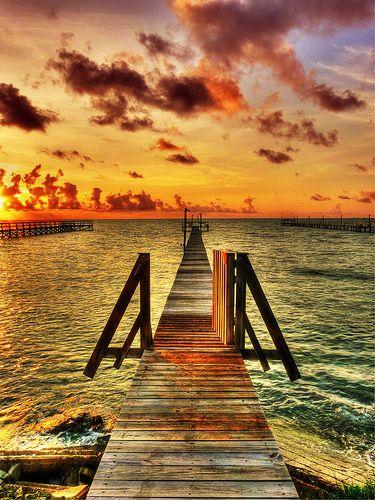Sitting on the Dock of the Bay, wasting tiiiiiime..... (Rockport,TX)