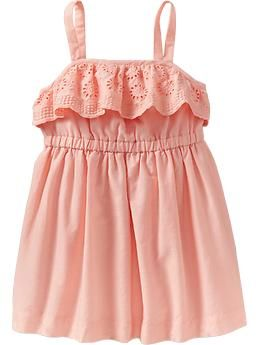 Dress for Quinn for pics with newborn sister?  comes in white and peach. old navy.