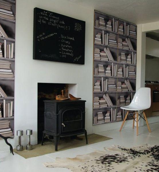 69 best images about trompe l 39 oeil wallpaper on pinterest - Trompe l oeil toilette ...