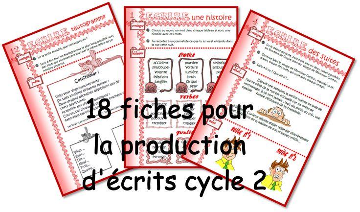 IPOTÂME ....TÂME: production d'écrit CE1 et CE2
