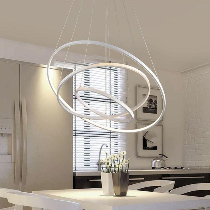 Pendant Modern Fixture Lighting Planetary Ring Satelite Orbit Ceiling Chandelier #PendantModernChina #Modern
