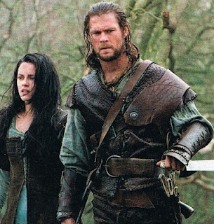Chris Hemsworth in Snow White and the Huntsmen.... I could just look at his face all day<333