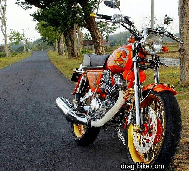 51 Foto Gambar Modifikasi Motor Cb 100 Terbaik Kontes Drag Bike Com Motor Drag Racing Gambar